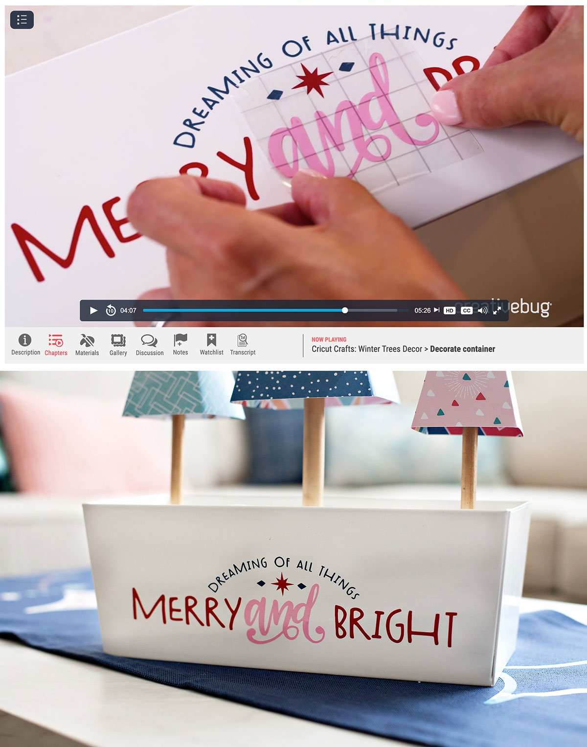 Merry and Bright holiday design