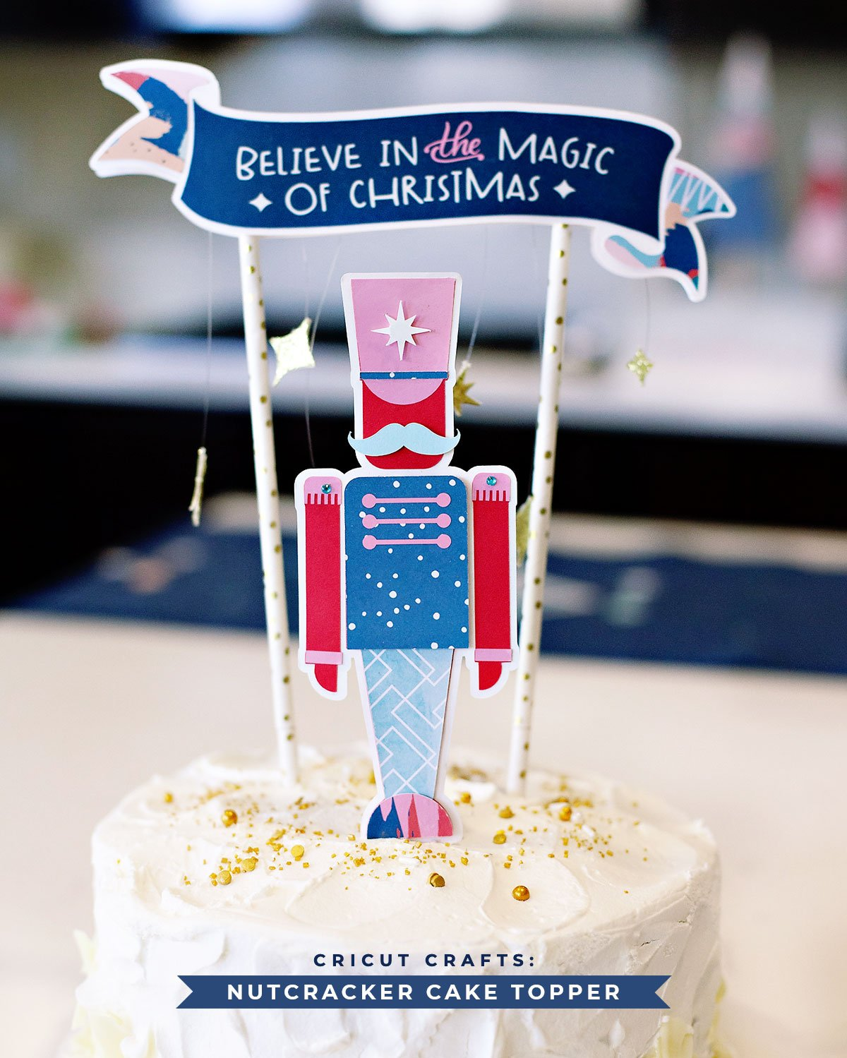 Nutcracker Cake Topper DIY Project