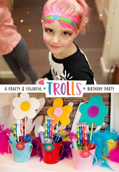 Trolls Birthday Party Ideas 1