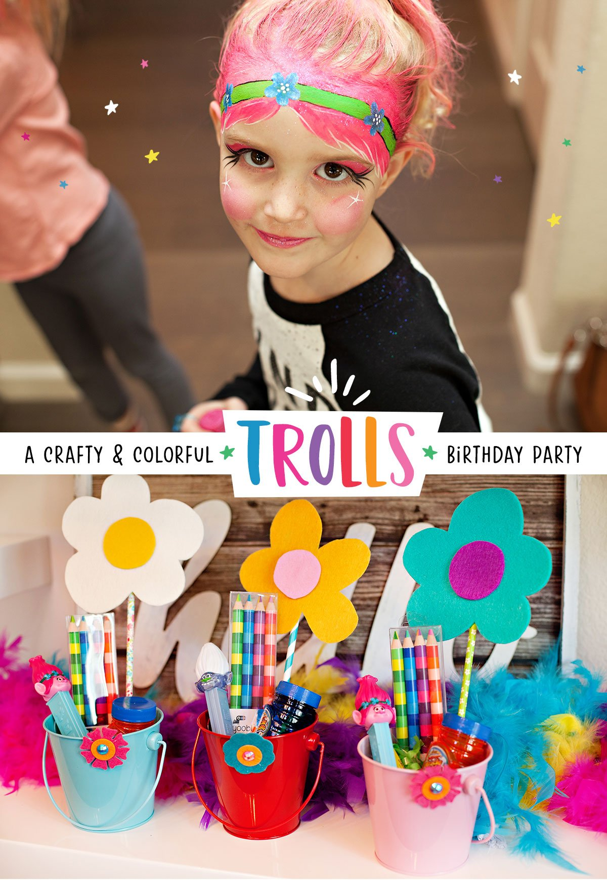 Trolls Birthday Party Ideas 1