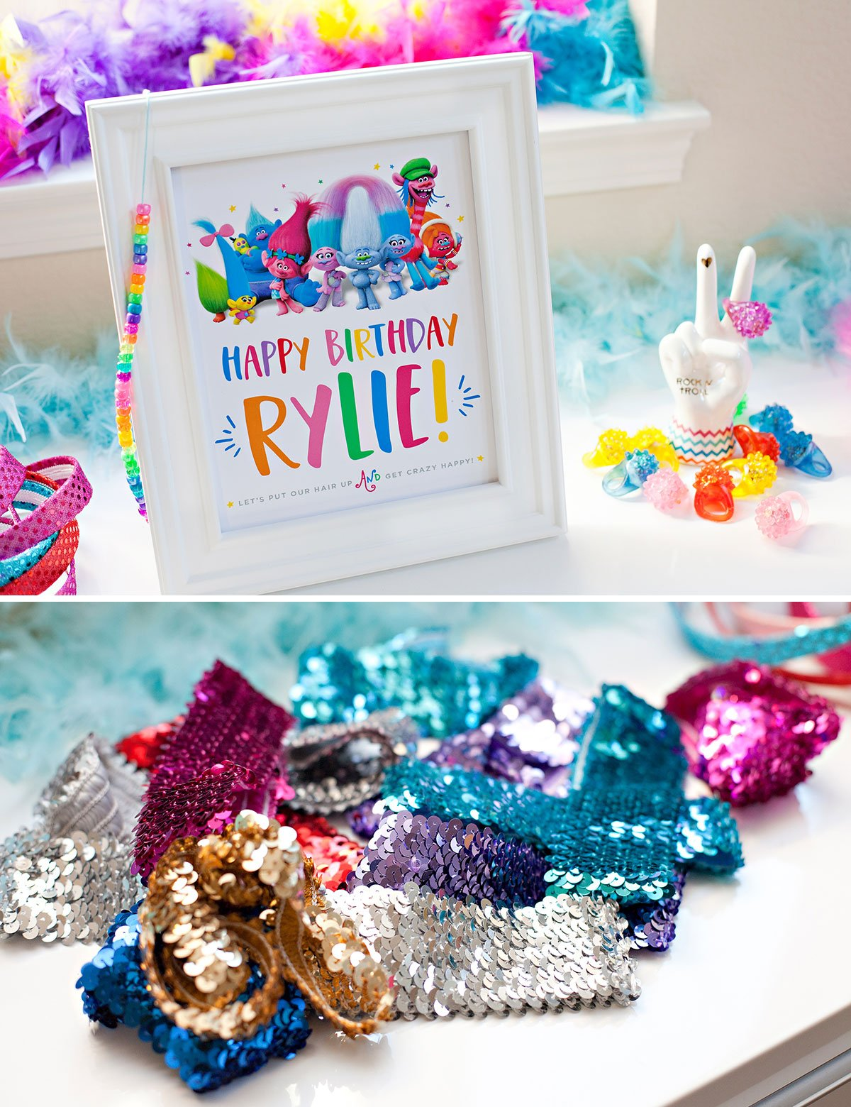 Trolls Birthday Party Ideas 3