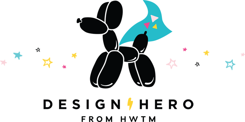 DESIGN HERO by HWTM Logo