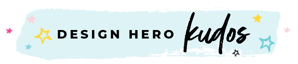 Design Hero Kudos Header