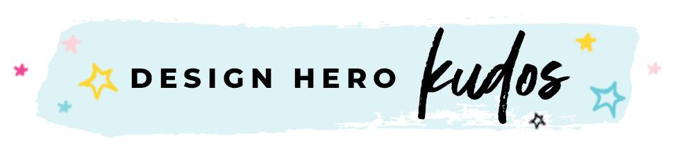 Design Hero Kudos Header