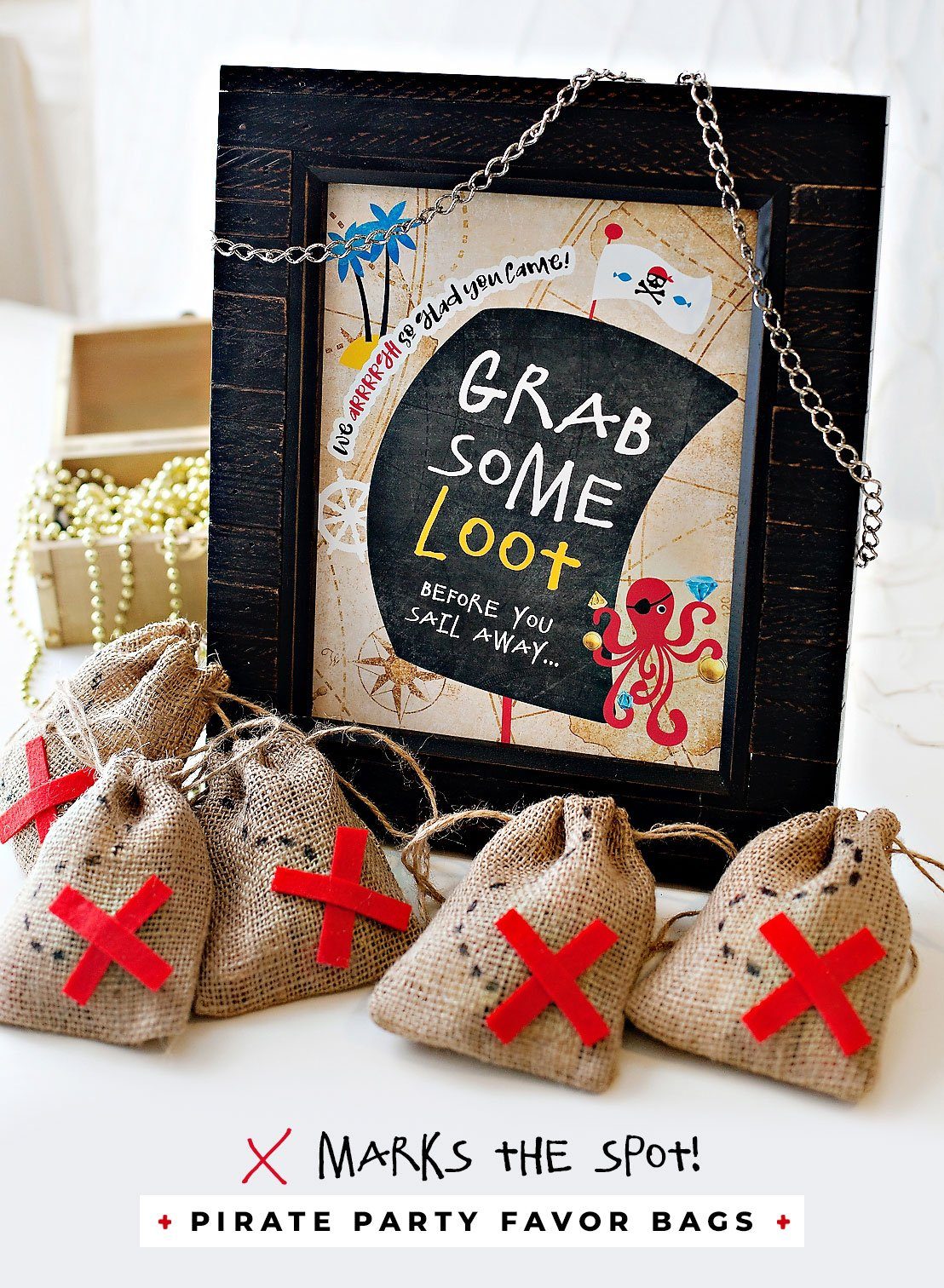 Pirate Party Favor Bags