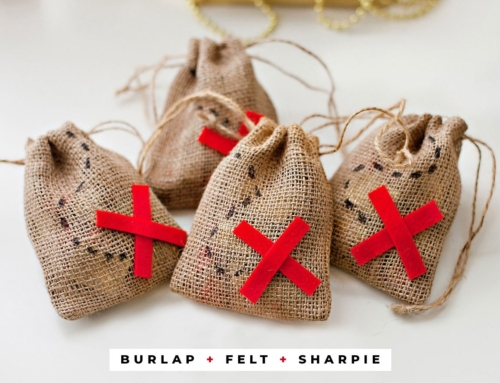 """""""X Marks the Spot"""" Pirate Party Favor Bags"""