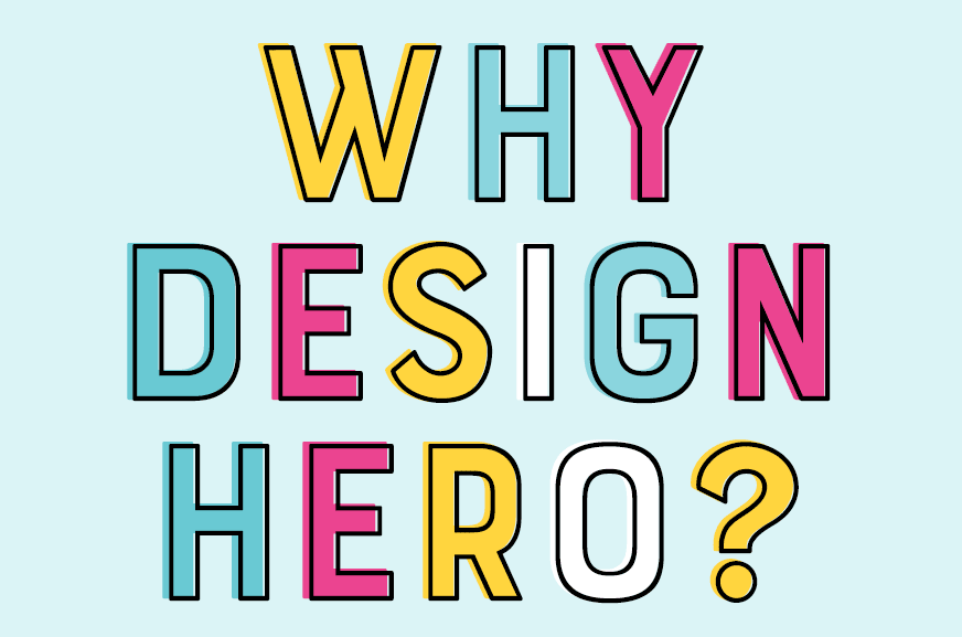 Design Hero - stacked