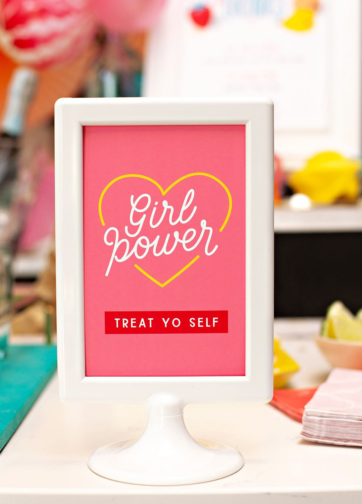 Girl Power Printable