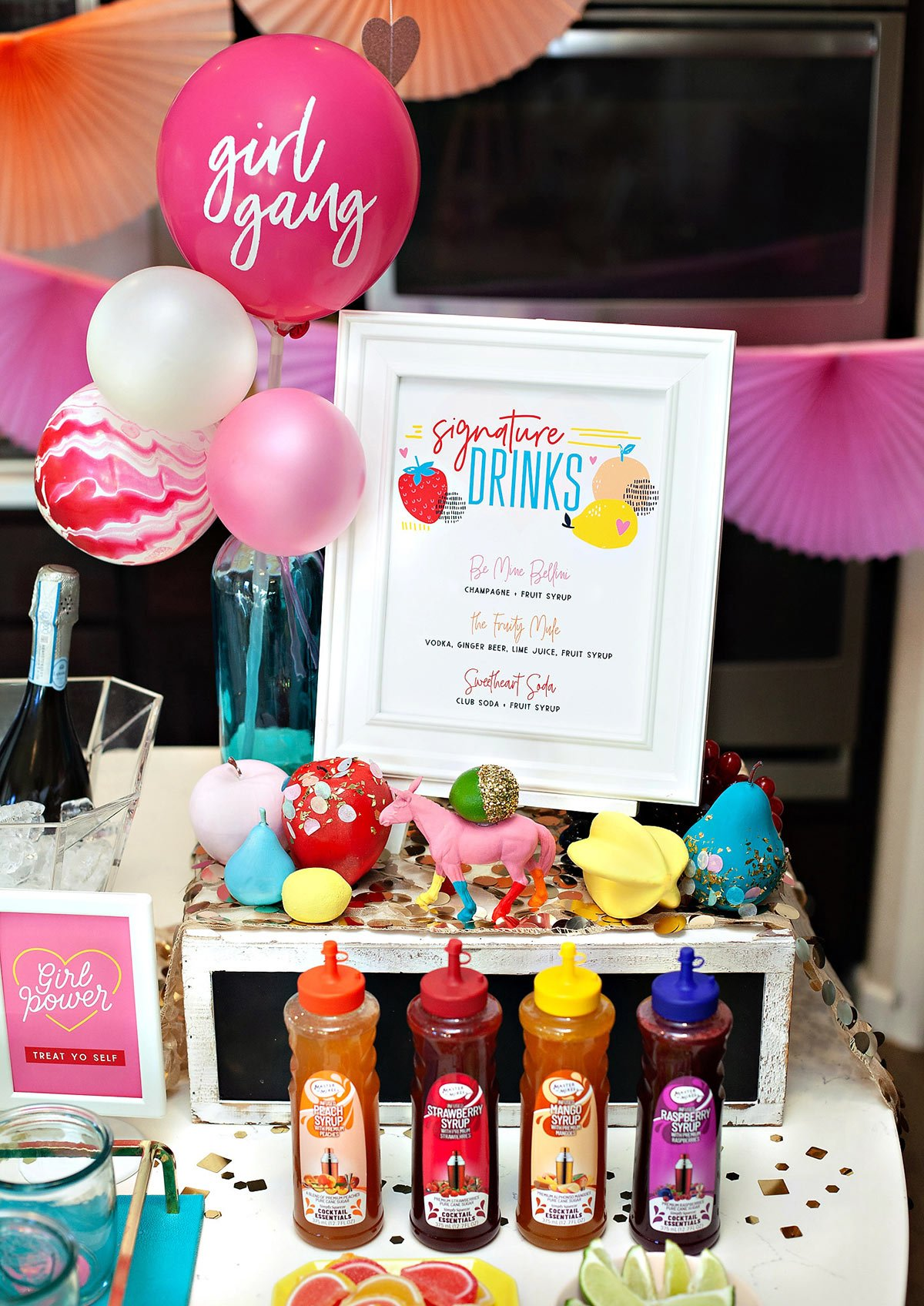 Fruity Party Drink Station