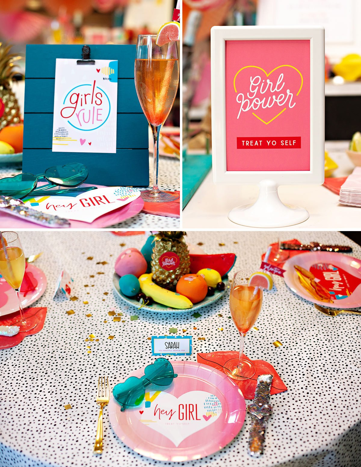 Girlie Valentine Party Printables