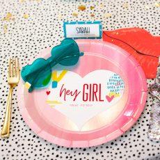 Hey Girl Plates