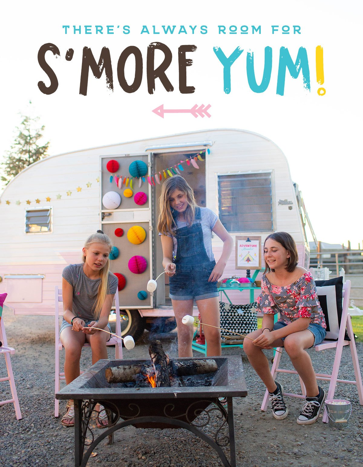 girls camping party ideas 9 – Activity Craft Holidays, Kids, Tips