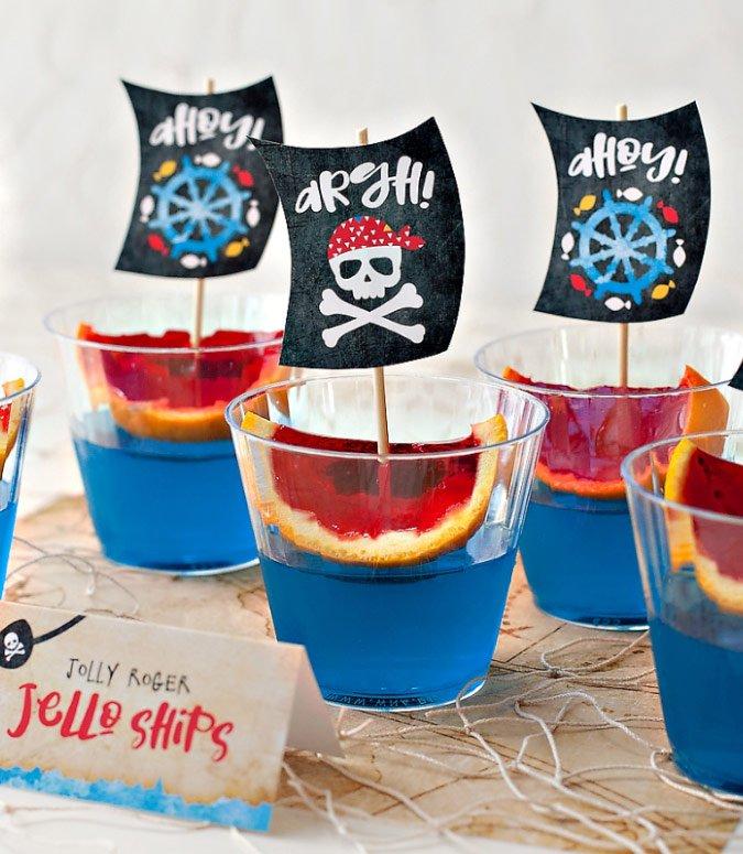 Pirate Jello Ships
