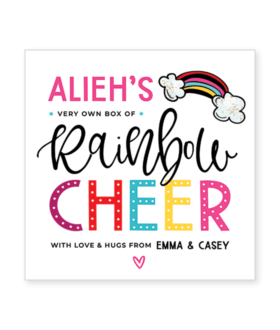 cheer up gift label