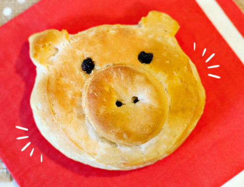 Farm Party Food: Little Piggy Biscuits