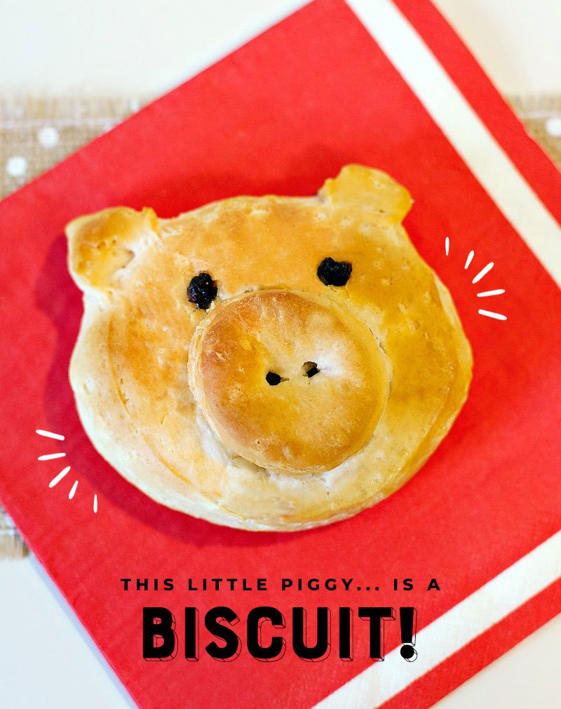 Piggy Biscuits Tutorial