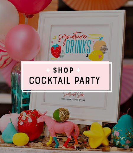 Cocktail Party Printables