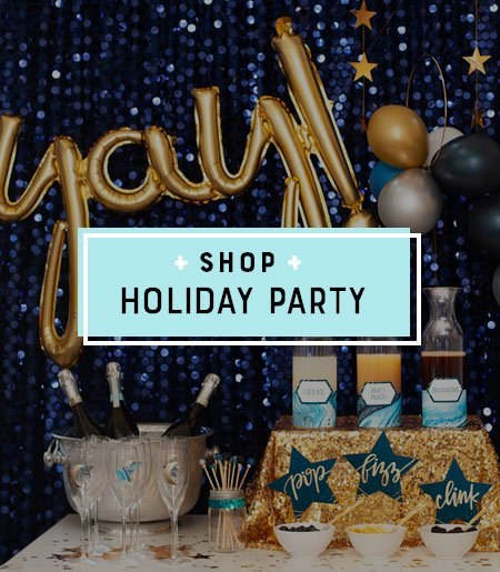 Holiday Party Printable Themes