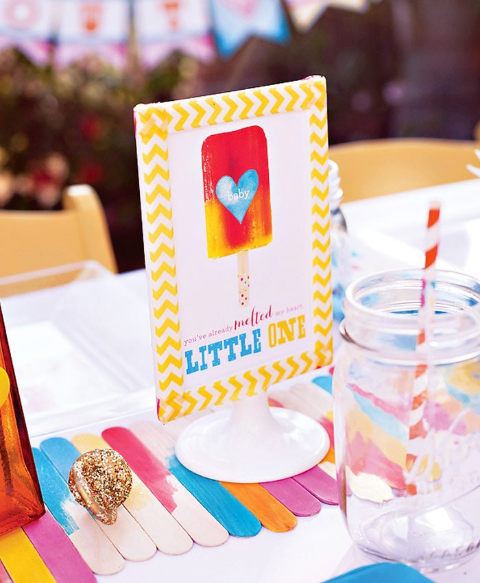 summer popsicle baby shower