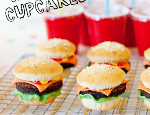 Clever Cheeseburger Cupcakes Recipe