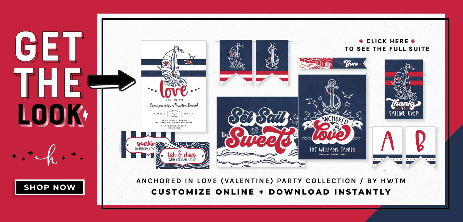 Anchored in Love Holiday Printables
