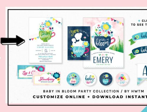HWTM Printable Collections: BABY SHOWERS