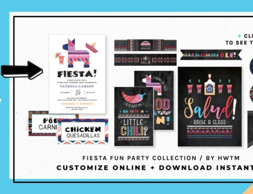 HWTM Printable Collections: PARTIES FOR ADULTS