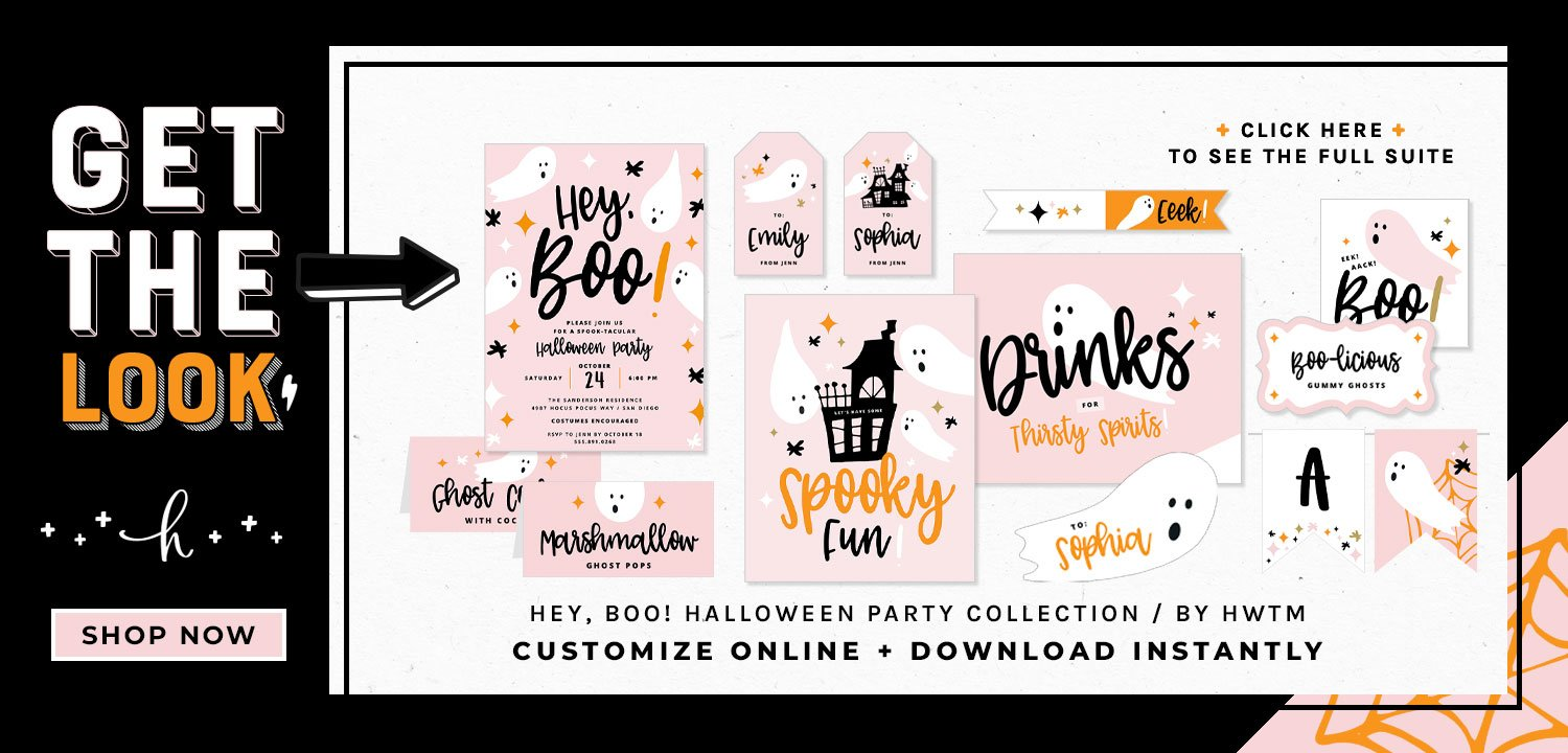 Hey Boo Halloween Party Collection