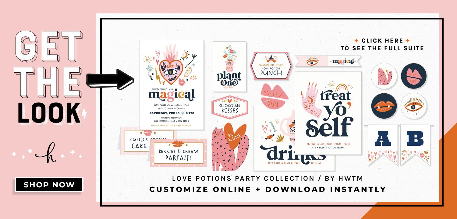 Love Potion Holiday Printables