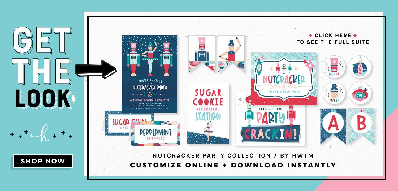 Nutcracker Holiday Printables