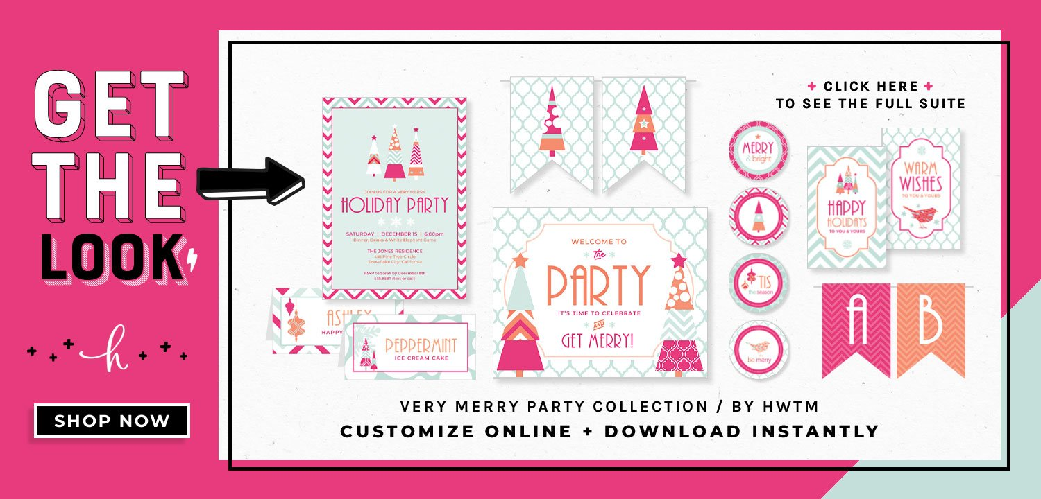 Verry Merry Holiday Printables