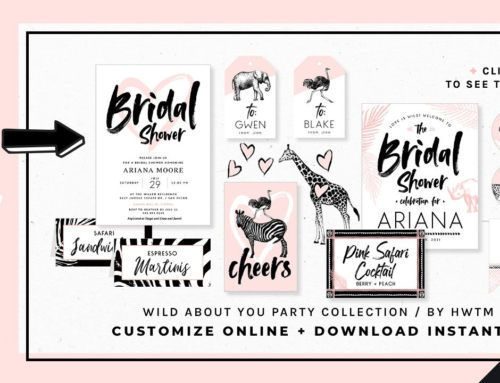 HWTM Printable Collections: BRIDAL SHOWERS