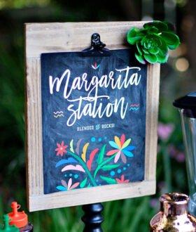 Margarita Station Printables