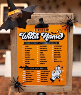 Witch Name Finder