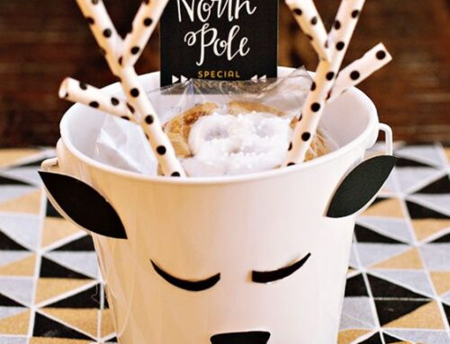 Reindeer Pail Holiday Cookie Gifts