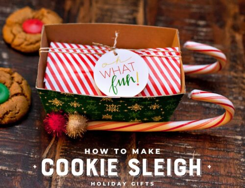 Oh What Fun! Holiday Cookie Sleighs