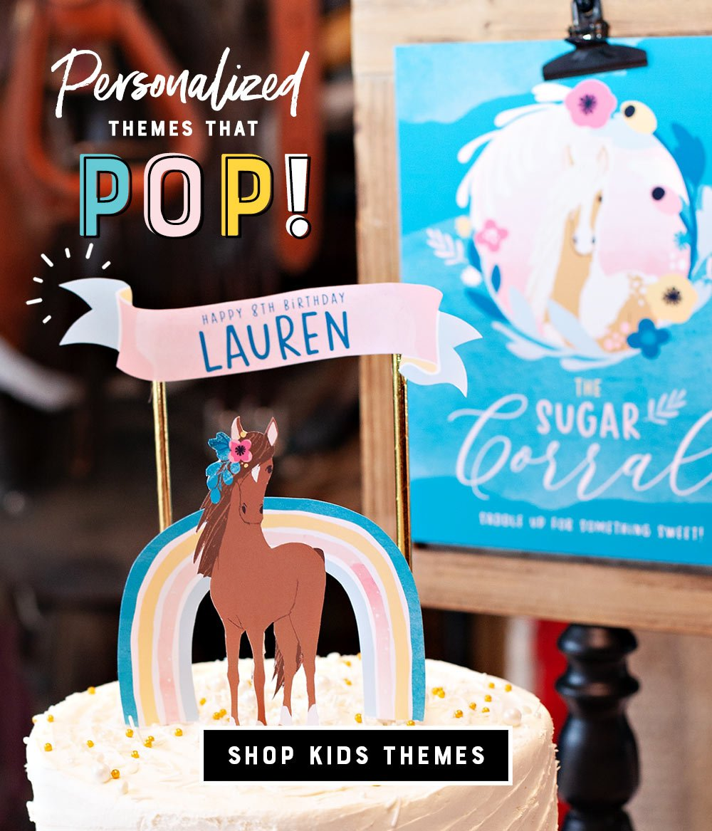 kids birthday party printables