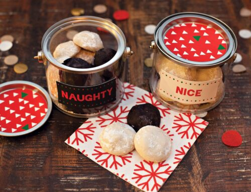 Naughty AND Nice Cookie Pails
