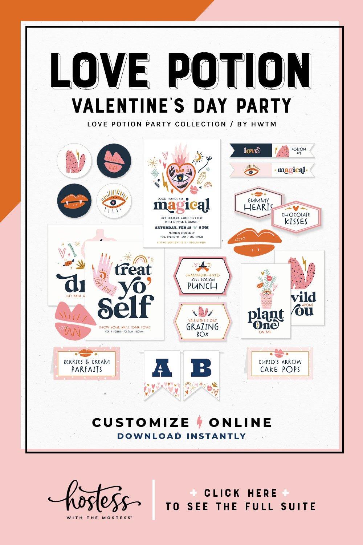 Love Potion Valentine's Day Printables