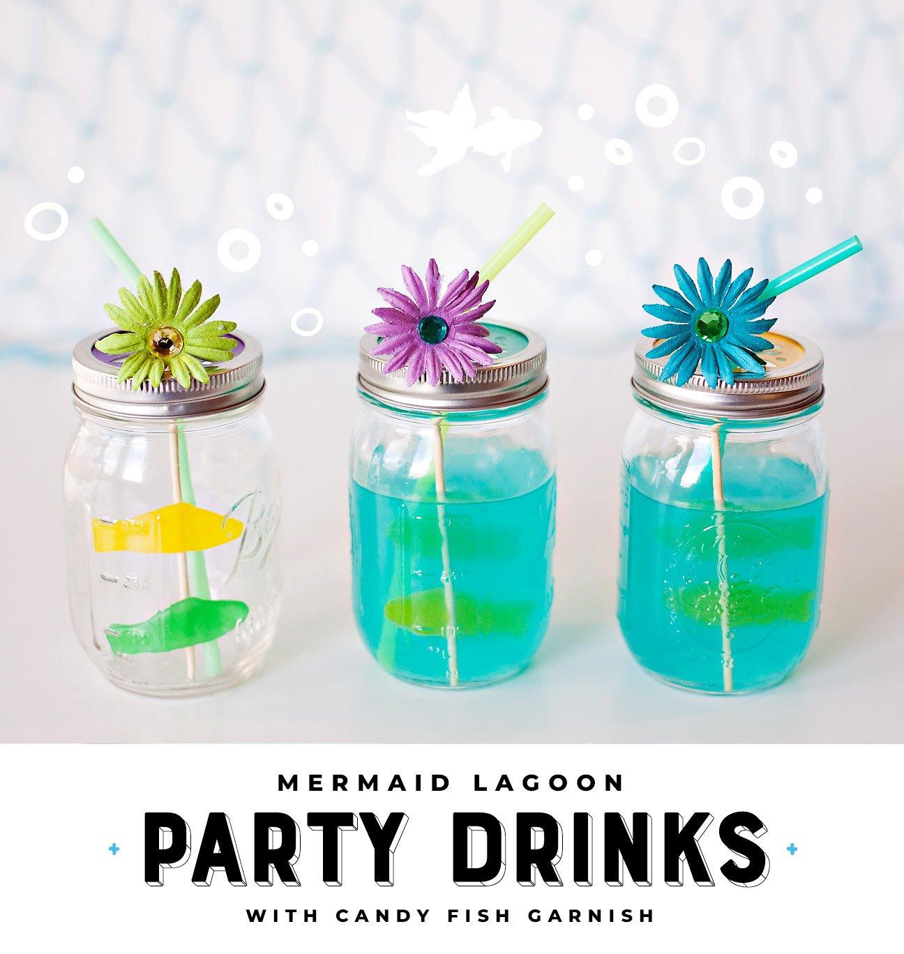 Mermaid Party Drink Idea