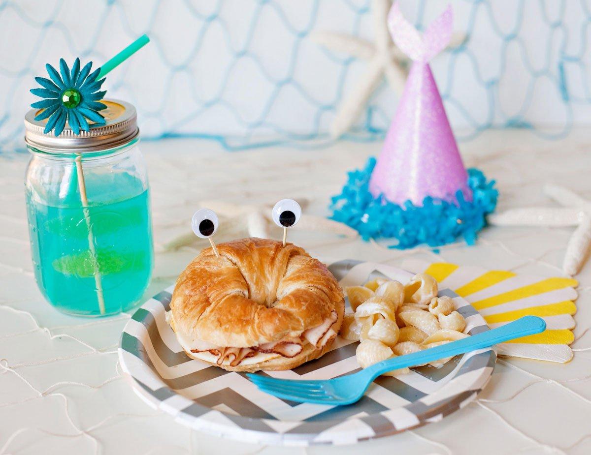 Mermaid Party Food & Drinks