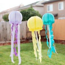 DIY Jellyfish Lanterns