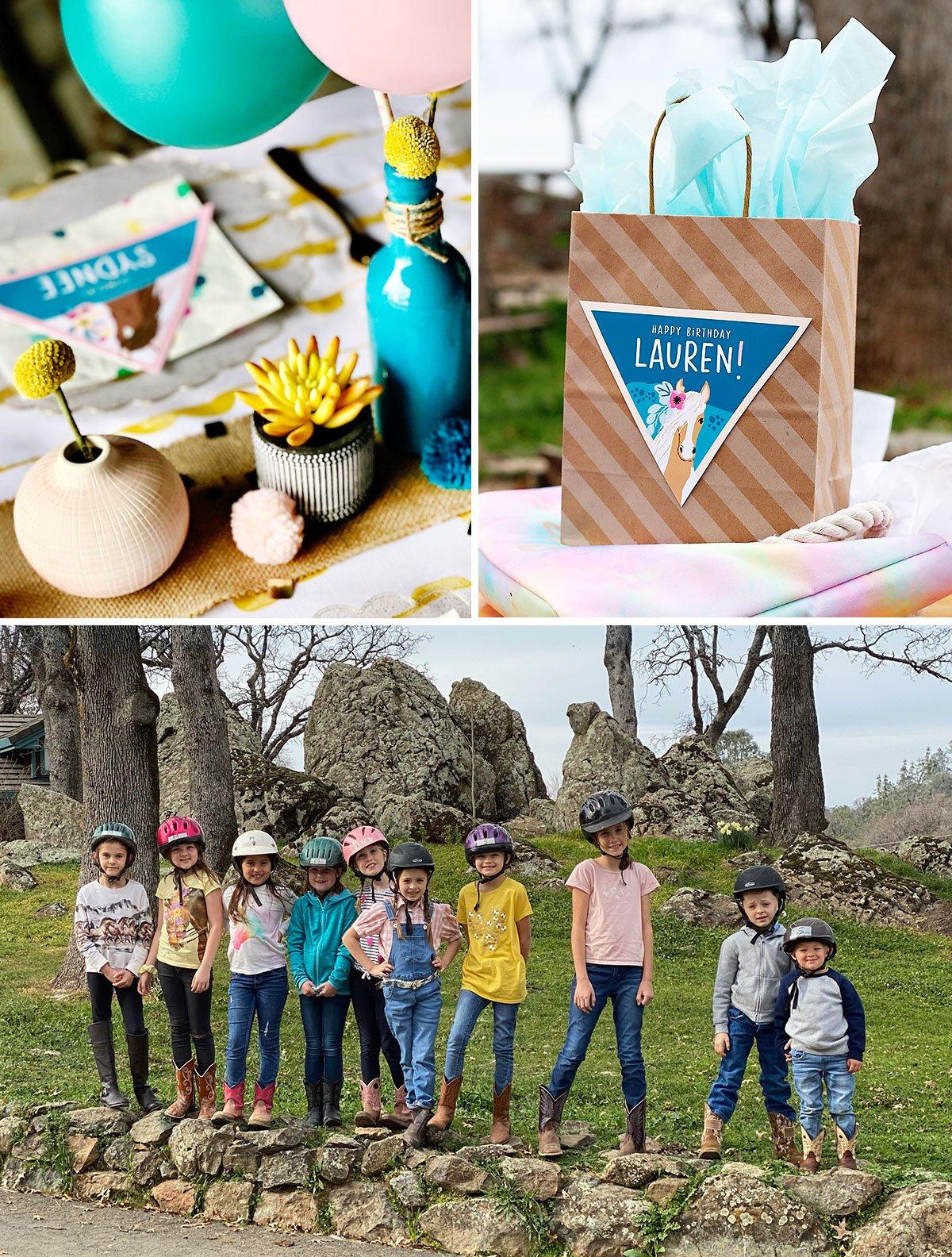 kids horse birthday party ideas