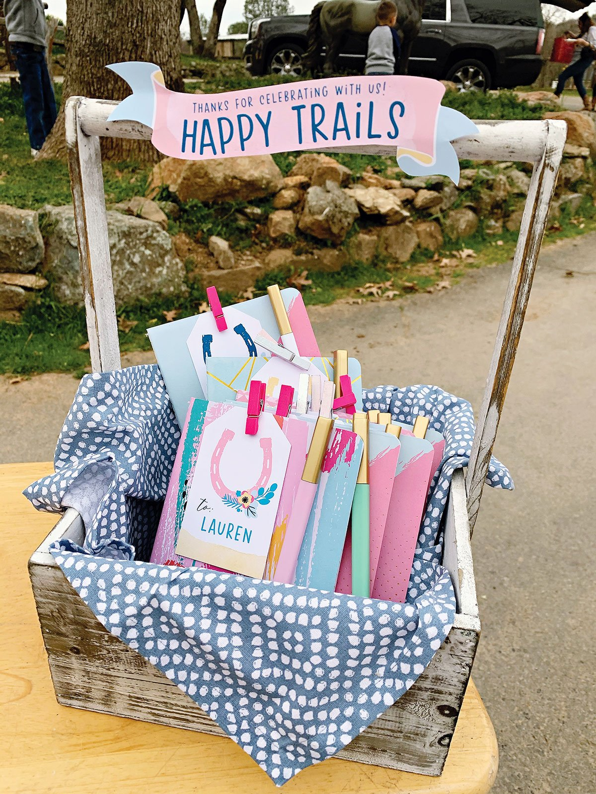 horse birthday party favors