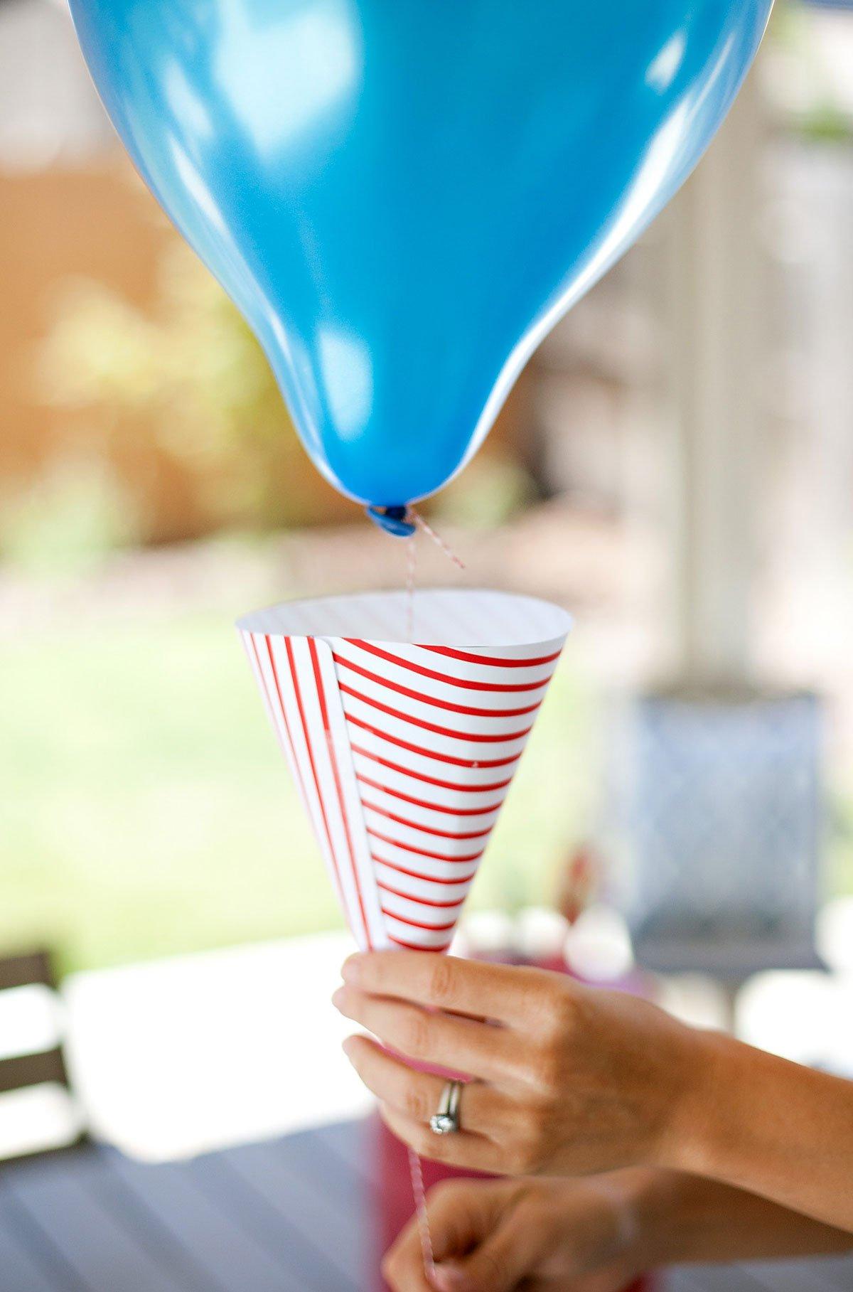 Patriotic Balloons Ice Cream