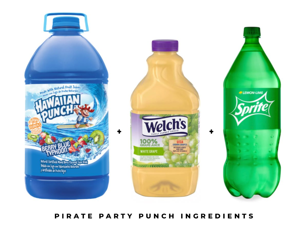 Pirate Party Blue Punch