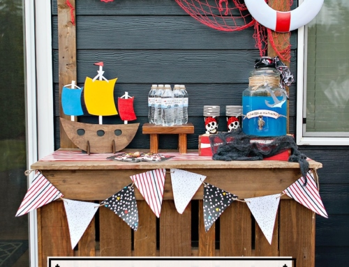 Clever Pirate Party Drink Station Ideas