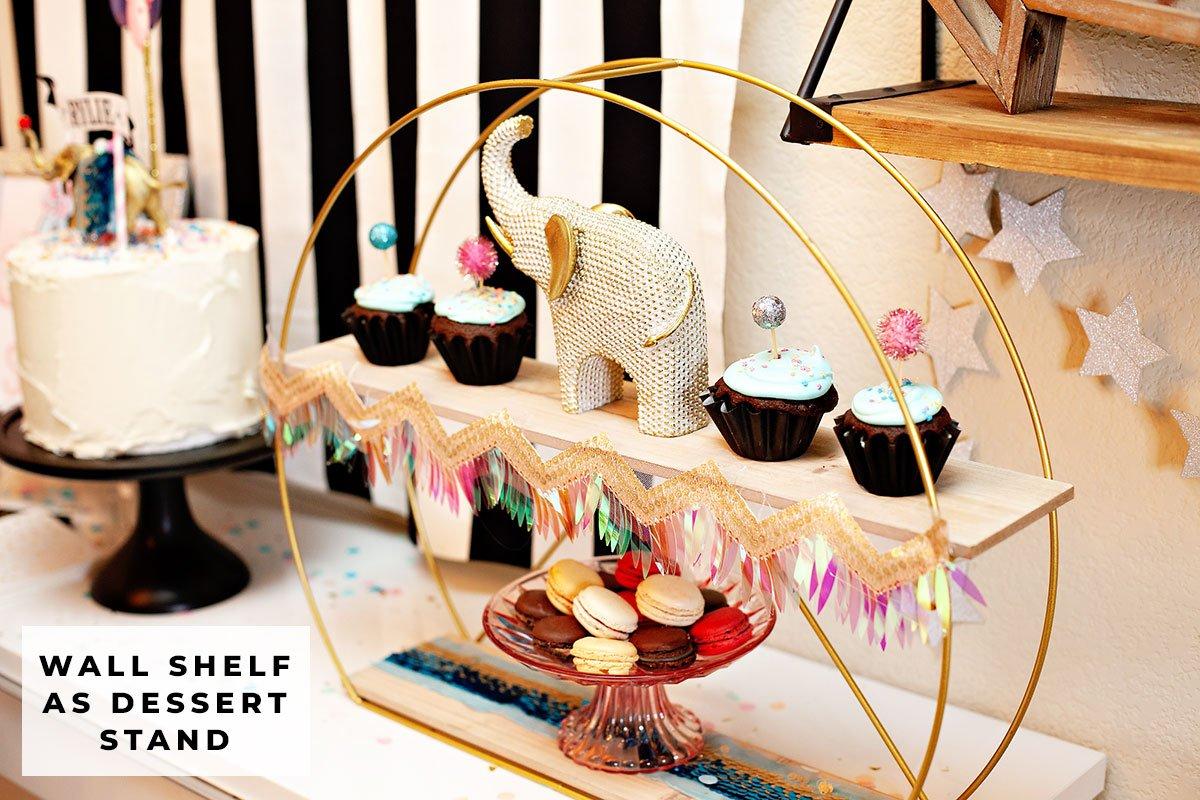 circus party dessert table idea