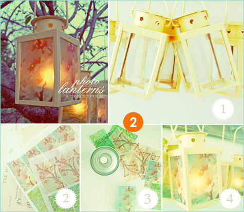 photo lantern tutorial
