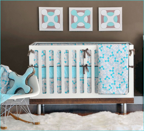 turquoise baby gifts - StrollerTraffic